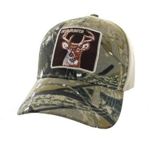 Hunting Deer Iconic Imagery Baseball Cap Design