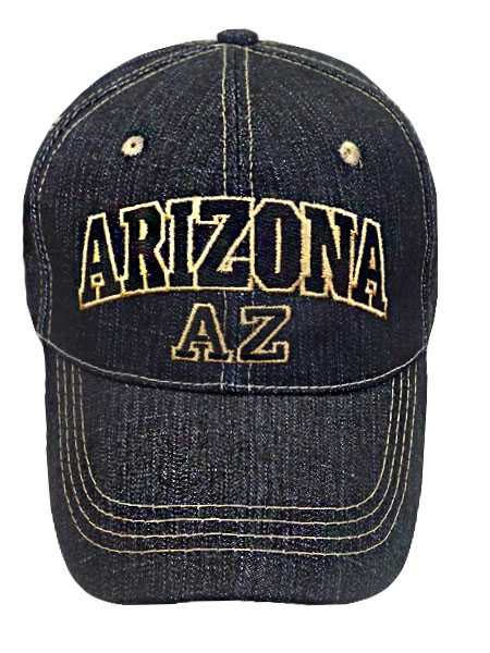 Arizona Denim Baseball Cap