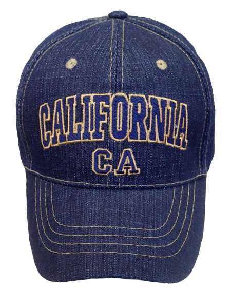 California Denim Baseball Cap