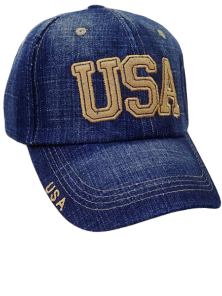USA Faded denim Cap