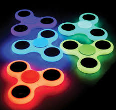 Glow in the dark Hand Spinner Fidget Toys