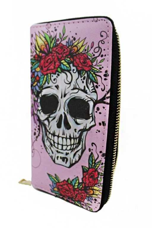 Cultural Day Of The Dead Sugar Skull Wallets