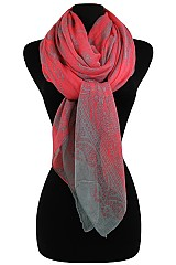 Paisley Pattern soft Wrap Scarves