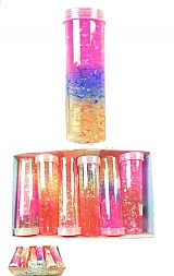 Trio Glitter Slime Tube Toy