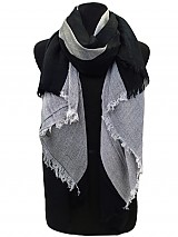 Three Tone Unisex Scarves