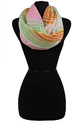 Color Full Chevron Infinity Scarves & Wraps