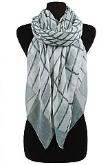 Geometric Pattern Softness Scarf