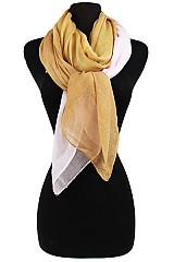 Mix Two Tone Softness Scarf