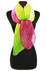 Striped Multi Colorful Softness Scarf