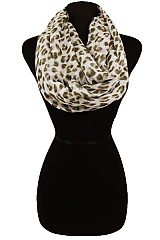 Dotted Pattern Soft Infinity Scarves