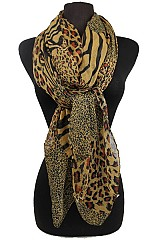Animal Pattern Soft Scarves