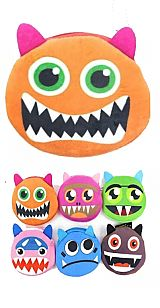 Novelty Plush Monster Coin Bag