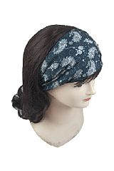 Floral Paisley Pattern Printed Sports Headband For Men And Women, Comfortable And Versatile Bandanna
