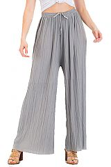 Ribbed Dress Up Luxury Feel Palazzo Pants