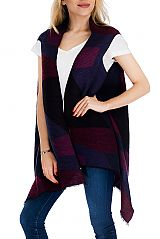 Colorful Geometric Extra Soft Emboss Ribbed Sleeveless Vest Top