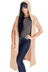Women Fashion Long Sleeve Less Super Softness Angora Blend Knitted Vest Poncho