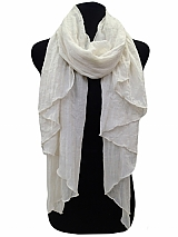 Solid Cotton Soft Scarves