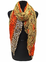 Mix Pattern Scarves & Wraps