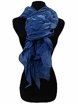 Ruffled softness scarf