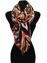 Chevron and Aztec Pattern Pashimina Feel scarf