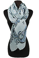 Paisley Pattern Soft Scarves