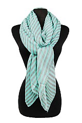 Soft Stripy Pattern Scarves