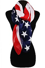 American Flag Regular Scarf
