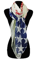 American Flag Vintage design Regular soft Scarf