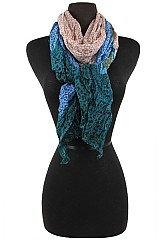 Animal Print Pattern Scrunchy Soft Scarves