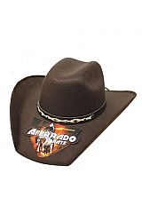 Elite Crafted Western Matte Suede Rodeo Cowboy Hat