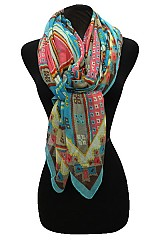 Digital Multi Missoni pattern Scarf