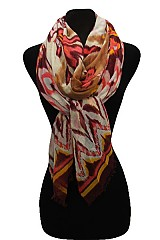 Missoni & Chevron Pattern scarf