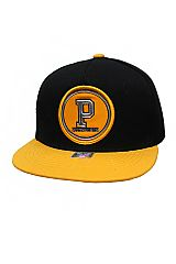 Pittsburgh Patched Two Tone Snap Back Hat