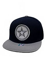 Dallas Texas Star Patched Snap Back Hat