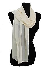 Plain Chiffon Felt Softness Scarves