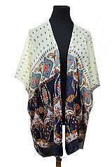 Valley Of Prints Fashion Softness Boho Vibe Kimono