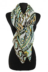 Missoni Aztec Pattern Soft Woven Scarves