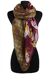 Multiple Pattern color full Soft Woven Wrap Scarves