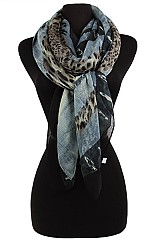 Animal Pattern Shade Soft Scarves