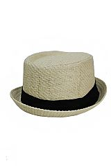 Unisex Pork Pie Fedora Hat