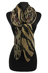 Animal Pattern Colorful Scarf