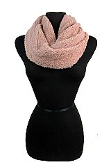 Brushed Extra Soft Cowl Neck Styled Scarves