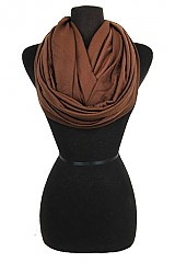 Soft and Stretchy Infinity Scarves