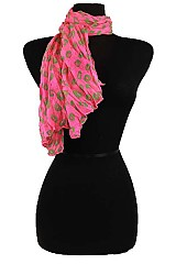 Animal Print Colorful Scarves