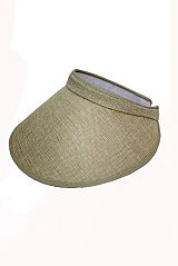 Cotton Fabric Visor Sun Hat