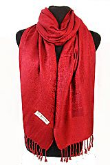 Colored Paisley Pashmina Silk Solid Long Soft Scarf Wrap Shawl