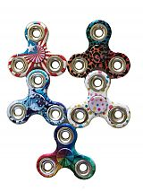 American Flag With Mixed Pattern Design Hand Spinner Fidget Toys