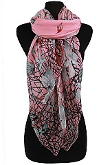 Floral Soft Scarves & Wraps