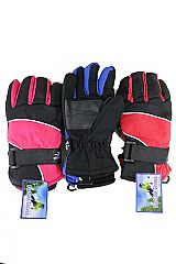 Kid Size Youth Gloves Grip And Elastic Wristband