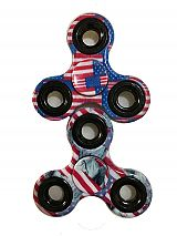 American Flag and Statue of Liberty Design Fidget Spinner